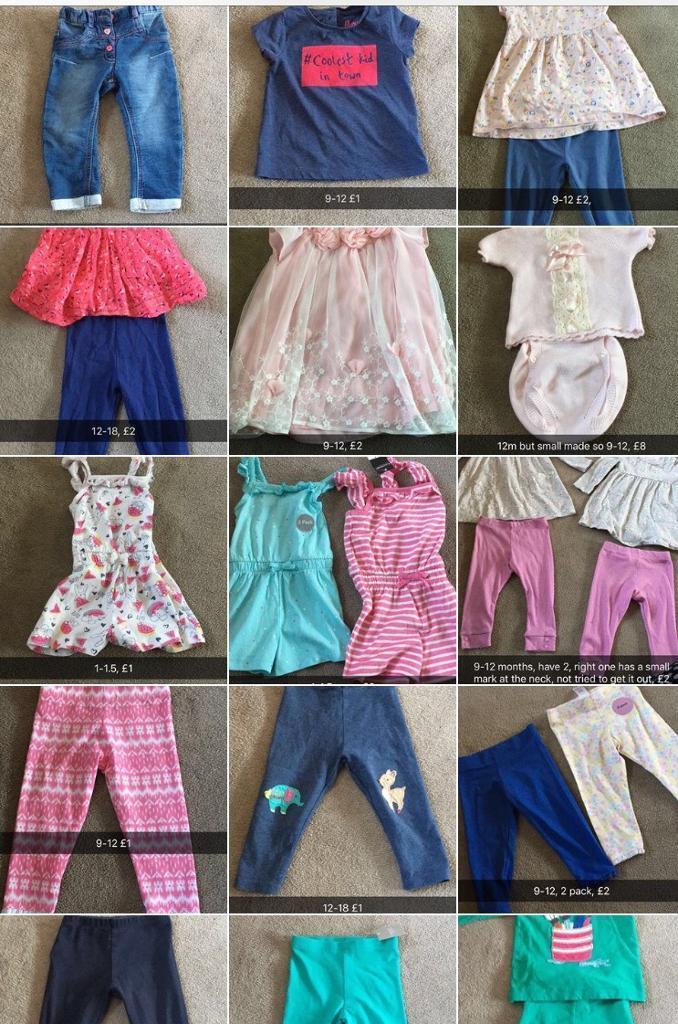 Girls & boys clothes