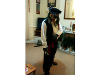 Pirate Zombie Fancy Dress Costume offers considered