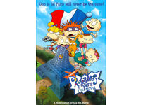 RUGRATS IN PARIS THE MOVIE VHS TAPE