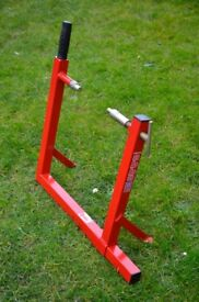 Genuine Abba Motorbike centre paddock stand. Suits many motorcycles bikes.