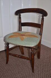 Beautiful Refurbished Vintage Childs Chair