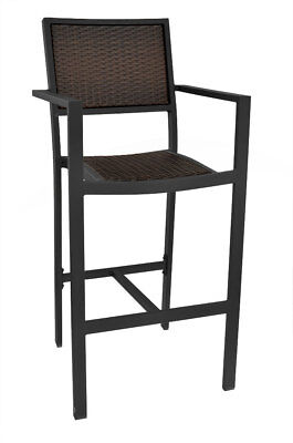 New Palazzo Collection Outdoor Arm Bar Stool