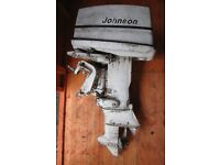 Johnson 40HP outboard motor, model 40R72E, spares or repair.