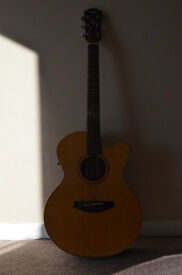 Yamaha Compass Series CPX 5 YN Electro Acoustic Guitar