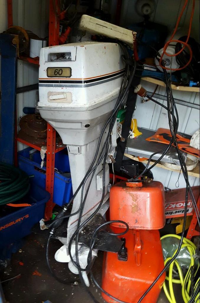 Johnson 60 hp outboard motor | in Gorebridge, Midlothian | Gumtree