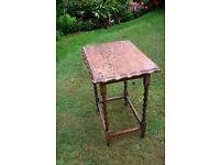 Hall Table, 1920's period, good condition, needs some refurbishment