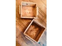 Antique/ Vintage Wooden troughs