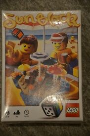 Lego Sunblock game in sealed unopened box