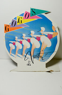 Vintage Go Gos Vacation Irs Records Display 1980S New Wave