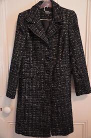 DEBENHAMS Ladies Coat, Brand New, UK 10 Petite