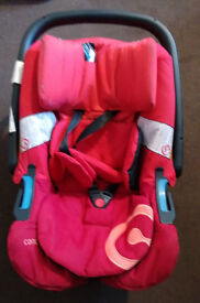CONCORD AIR.SAFE baby car seat 0 plus tomato red