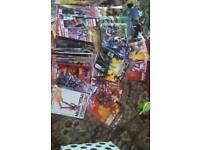 Large collection of Marvel comics .