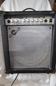 35 W Electric Guitar Amp with Reverb by Gear4Music