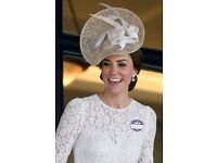 "Jane Taylor ""Una"" Occasion Hat (as worn by HRH Duchess Kate Middleton) RRP £1,050"