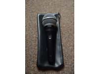 Shure Pg58 - Shipping by post available