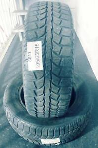 PNEUS ÉTÉ USAGÉS / USED SUMMER TIRES 195/65R15 19565R15 UNIROYAL TIGER PAW (2 DE DISPONIBLES)