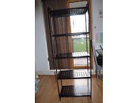 IKEA Shelf - metal black