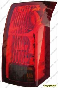 Tail Lamp Passenger Side With Black Square In Lower Lens [From 2003 To 1/3/2004] High Quality Cadillac CTS