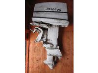 Johnson 40HP outboard motor, model 40R72E, no engine