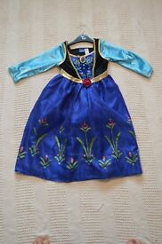 Used once Anna Dress from Frozen 5-6