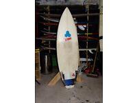 Al Merrick Dumpster Diver surfboard, 6'0''