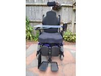 Second-hand motorised wheelchair
