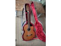 Duke 'Student C Cut' Classical Nylon guitar with Fishman Pickup & Hardcase