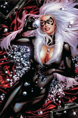 BLACK CAT #1 ANACLETO VIRGIN VARIANT MARVEL COMICS FELICIA HARDY SPIDER-MAN](Black Cat Felicia Hardy)