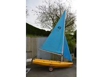 Pico sailing dinghy for sale.