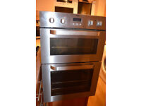 ZANUSSI Built in double electric oven