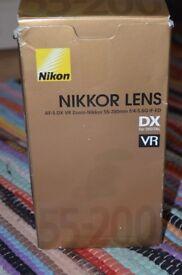 Nikon Nikkor Lens 55-200mm