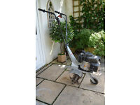 Petrol CULTIVATOR (Light weight rotavator) Ideal for seed bed preperation. Folds into hatch back