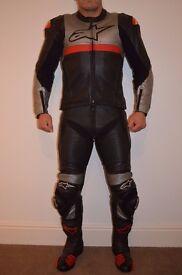 Alpinestars two piece leathers
