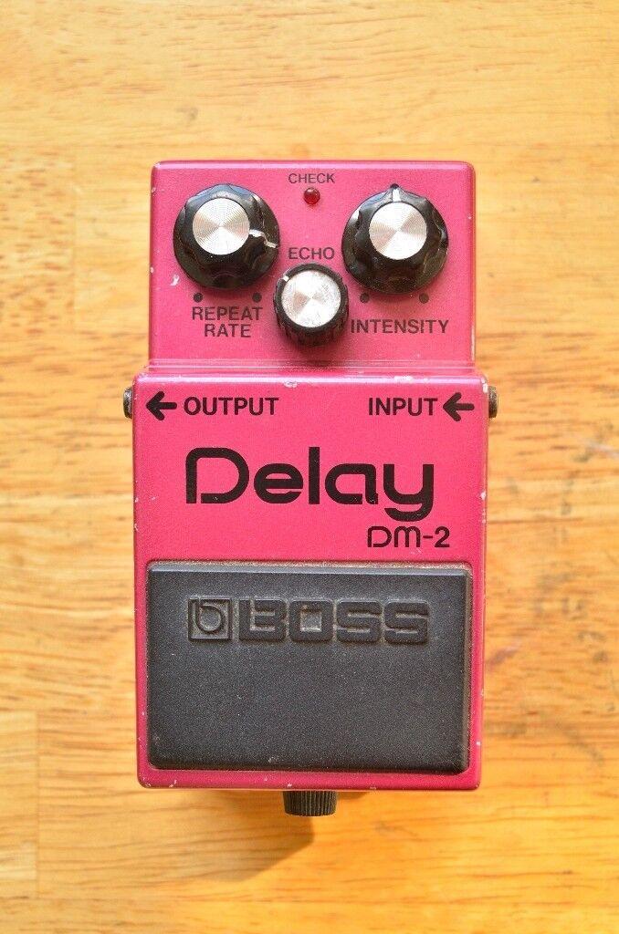 Boss DM2 vintage analog delay pedal