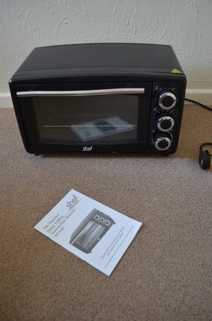 Shef 18 Litres mini small oven toaster perfect for camping