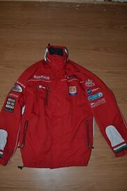 Official Team Ducati Red Softshell Coat Medium Jacket