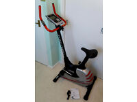 York Aspire Exercise Bike, Electric Exercise Cycle, Gym Bike - Fantastic Condition! Model No. 53051