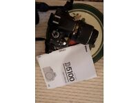 Nikon D5100 - Hardly Used - Carrier Bag included