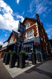 Experienced assistant manager position, The Prince of Wales, Hampton Court KT8