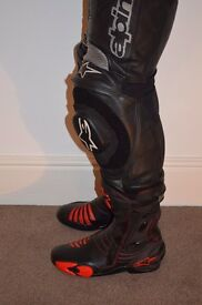 Alpinestars S-MX R motorcycle boots