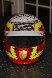 Crash helmet, customising, karting, track day painting service