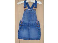 Next girls denim dress (6 years)