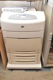 HP Color LaserJet 5550dtn Colour Workgroup A3 A4 Laser Printer
