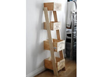 Wine Crate Shelving unit | Bespoke Storage Shelfs Shabby Chic Draws Bedroom Dining Living Room £85