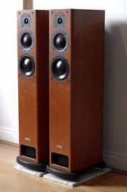 Pair of PMC OB1 Floor Standing Speakers Cherry MINT Boxed OOO not TWENTY FB1+ EB1 FACT B&W