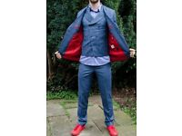 Selling custom made men SUIT - Jacket, waistcoat and trousers, shirt.
