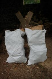 Dry hardwood logs. Firewood. Free delivery
