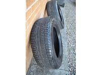 2 Tyres from Suzuki Vitara part worn