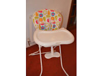 Graco Highchair (Fruit Salad pattern)