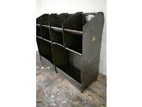 Vintage workshop shelves - shabby industrial retro